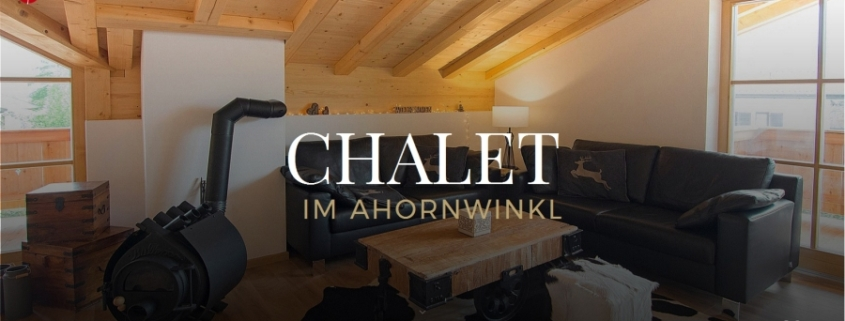 Screenshot WordPress Website Chalet im Ahornwinkl
